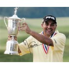 Angel Cabrera autographed 2007 U.S. Open 8x10 golf photo
