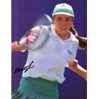 Anna Smashnova autographed full page tennis magazine photo