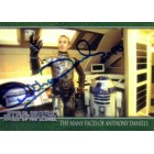 Anthony Daniels autographed Star Wars Attack of the Clones C-3PO card