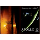 Apollo 13 movie set of 2 promo cards