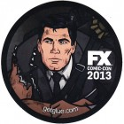 Archer 2013 Comic-Con exclusive promo sticker