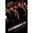 Armored mini movie poster (Matt Dillon) MINT