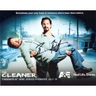 Benjamin Bratt autographed 8x10 The Cleaner photo