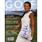 Beverly Johnson autographed 2004 Golf for Women magazine