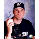 Ben Sheets autographed Milwaukee Brewers 8x10 photo