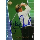 Beth Daniel autographed 2000 Collector's Edge golf card