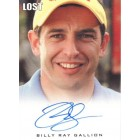 Billy Ray Gallion LOST certified autograph card