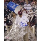Bobby Bowden autographed Florida State Seminoles 8x10 victory shower photo