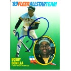 Bobby Bonilla autographed Pittsburgh Pirates 1989 Fleer All-Star Team card