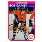 Bob Gainey autographed Montreal Canadiens 1982-83 OPC card