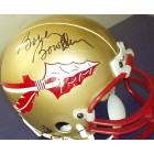 Bobby Bowden autographed Florida State Seminoles mini helmet
