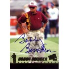 Bobby Bowden certified autograph Florida State Seminoles 1998 Press Pass card