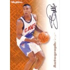 Bobby Phills certified autograph Cleveland Cavaliers 1996 SkyBox card