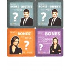 Bones 2013 Comic-Con promo lot of 4 coasters MINT (David Boreanaz & Emily Deschanel)