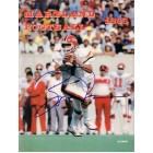 Boomer Esiason autographed Maryland football 1983 media guide