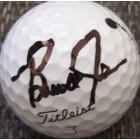 Brandt Jobe autographed tournament used Titleist golf ball