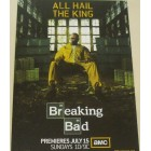 Breaking Bad 2012 Comic-Con 4x6 promo card (Bryan Cranston)