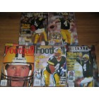Lot of 5 Brett Favre Green Bay Packers Beckett Football Monthly magazines