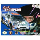 Brett Thompson autographed NASCAR 8x10 photo card