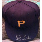 Brian Giles autographed Pittsburgh Pirates authentic game model cap