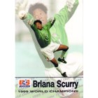 Briana Scurry 1999 U.S. Women's National Team Roox soccer card