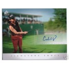 Candie Kung (LPGA) certified autograph 2004 SP Signature Golf 8x10 photo card