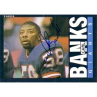 Carl Banks autographed New York Giants 1985 Topps Rookie Card