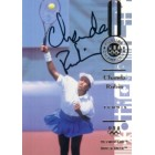 Chanda Rubin autographed 1996 Olympic tennis card