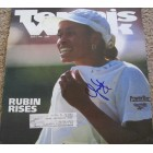 Chanda Rubin autographed 1996 Tennis Week magazine cover