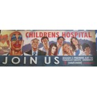 Childrens Hospital 2013 Comic-Con 11x28 inch promo poster MINT