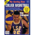 Chris Jackson autographed LSU Tigers 1989-90 Sporting News College Basketball Yearbook