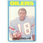 Charlie Joiner 1972 Topps Rookie Card Ex condition