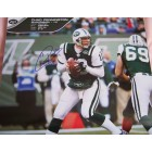 Chad Pennington autographed New York Jets calendar page