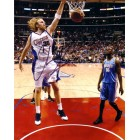 Chris Kaman autographed Los Angeles Clippers 8x10 photo