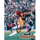 Charles White autographed USC Trojans 8x10 photo
