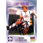 Cindy Parlow autographed US Soccer 1996 Sports Illustrated for Kids Rookie Card