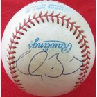 Clay Buchholz autographed American League game used baseball