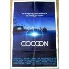 Cocoon original 1985 full size 27x40 inch movie poster