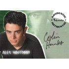 Colin Hanks Roswell certified autograph card