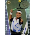 Conchita Martinez autographed 2000 Collector's Edge tennis card
