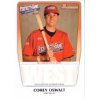 Corey Oswalt 2011 Perfect Game Topps Bowman Rookie Card (AFLAC)