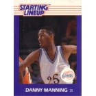 Danny Manning Kenner Starting Lineup 1989 Rookie Card