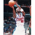 Darius Miles autographed Los Angeles Clippers 8x10 photo