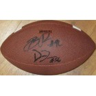Datone Jones & Brian Price (UCLA) autographed Wilson NCAA football
