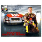 David Gilliland autographed NASCAR 8x10 photo card