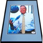 David Stern autographed 8x10 photo matted & framed (PSA/DNA)