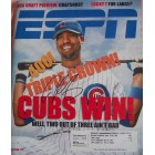 Derrek Lee autographed Chicago Cubs 2005 ESPN Magazine