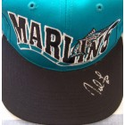 Derrek Lee autographed Florida Marlins cap or hat