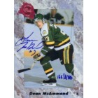 Dean McAmmond certified autograph 1991 Classic card