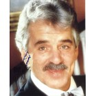 Dennis Farina autographed 8x10 portrait photo